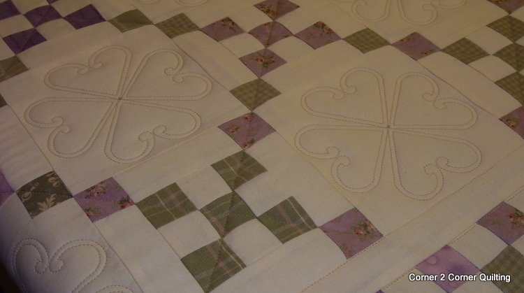 Simple Irish Chain Quilt